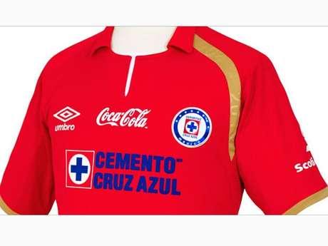 La playera roja de Cruz Azul