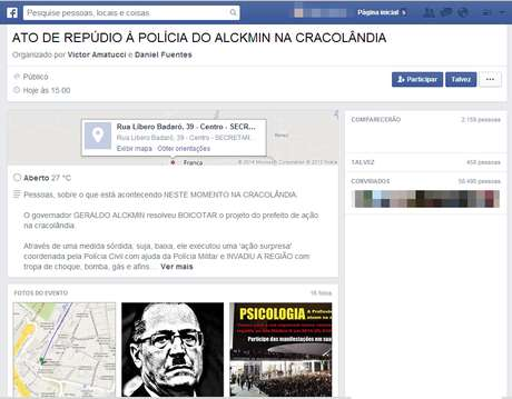 O protesto foi agendado para a tarde desta sexta, no centro de São Paulo