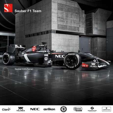 <p>El Sauber C33 tendrá como pilotos a Esteban Gutiérrez y Adrian Sutil.</p>