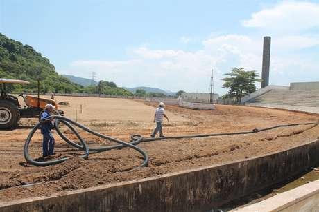 O Estádio Municipal Antônio Fernandes, no Guarujá, receberá os treinos da Bósnia e Herzegovina