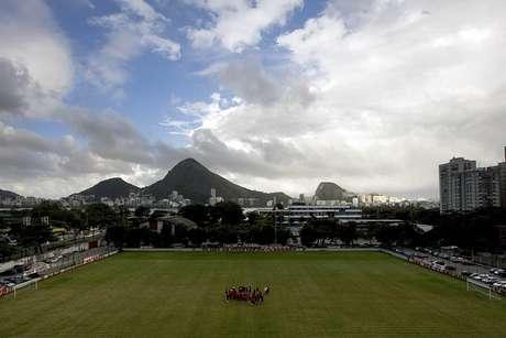 A Gávea, casa do Flamengo, vai receber os treinamentos da Holanda antes da Copa do Mundo