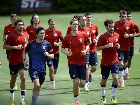 <p>Seleção dos Estados Unidos já veio a São Paulo para período de treinos no CT da Barra Funda</p>