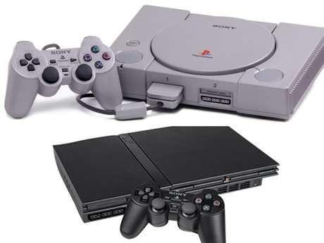 O Playstation 1 e o Playstation 2