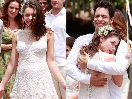 <p>Após se casar com Rafael (Rainer Cadete),Linda (Bruna Linzmeyer) faz sucesso como pintora</p>