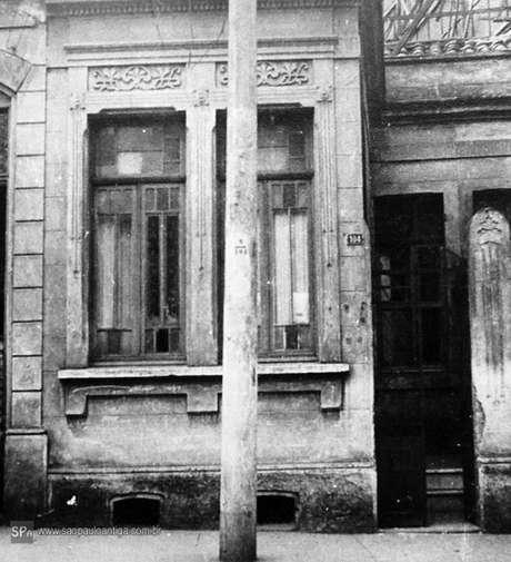 Casa onde ocorreu o Crime do Poço, em 1948