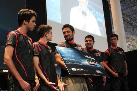 A equipe brasileira ficou com a segunda colocação