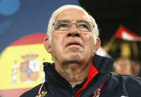 <p>Luis Aragonés fue el técnico que llevó a España a ganar la Eurocopa 2008.</p>