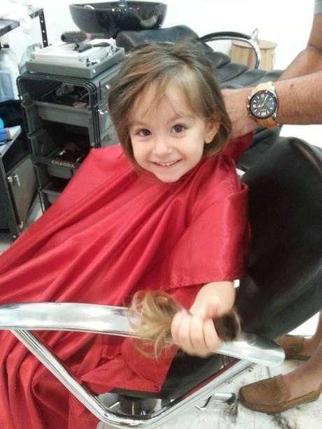 <p>A mais recente doação veio de Luísa, de apenas três aninhos</p>