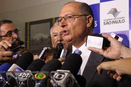 Alckmin descartou ao menos até o próximo dia 15 deste mês as chances de racionamento de água em São Paulo