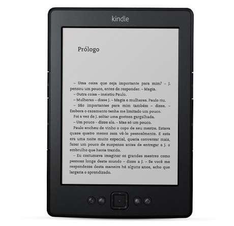 Amazon passa vender e-reader Kindle em seu site brasileiro