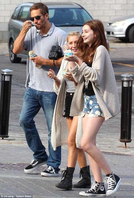 Era habitual que Paul Walker y su hija Meadow pasaran mucho tiempo juntos