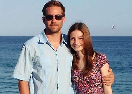 <p>Paul Walker y su hija Meadow el año pasado</p>
