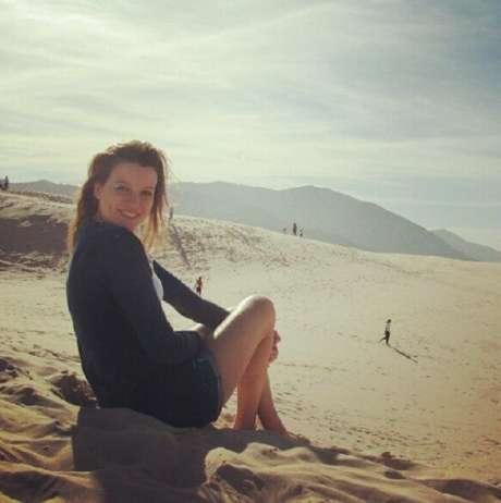 Karin Goss saiu de São Paulo e se mudou para Florianópolis, capital catarinense