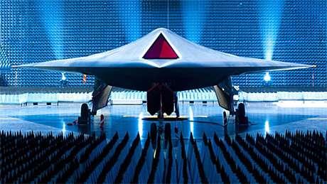 Protótipo da aeronave Taranis, que pode funcionar sozinha, sem intervenção humana