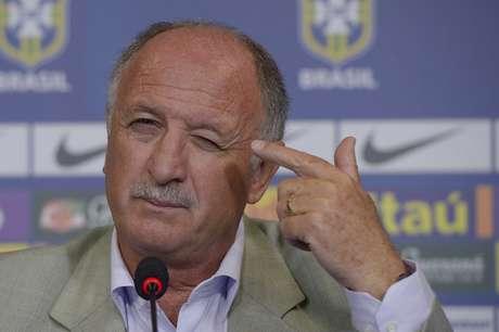 <p>Felipão está preocupado com lesão de Fred</p>