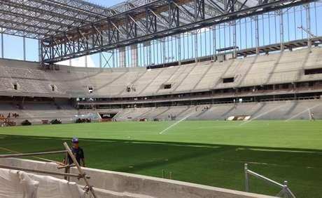 <p>Arena da Baixada &eacute; a mais atrasada at&eacute; aqui e tem que correr contra o tempo para concluir obras at&eacute; a Copa do Mundo</p>