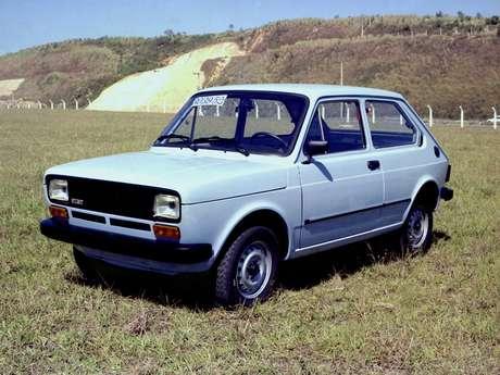Fiat 147 participa do recall