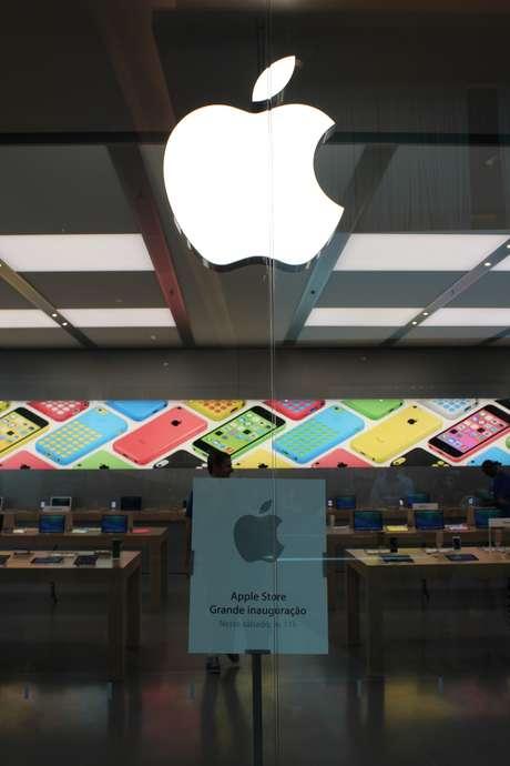 Primeira loja da Apple no Brasil, no Rio de Janeiro