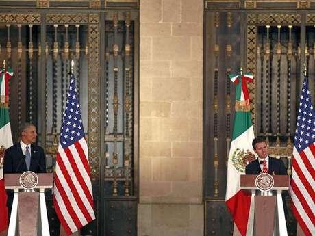 <p>Obama estuvo en México el 3 y 4 de mayo de 2013 y con Peña Nieto llegaron a cuatro acuerdos de alto impacto para ambas naciones.</p>