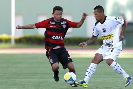 Vitória empatou com Ceará neste domingo