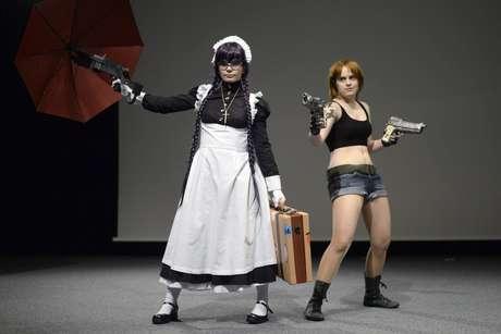 Convenção na Suíça reúne entusiastas da cultura japonesa em competição de cosplay