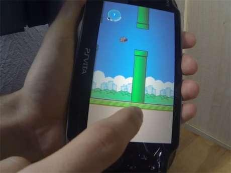 Cena de Flappy Bird para PS Vita