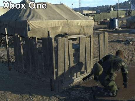 Cena de 'Metal Gear Solid V' no Xbox One