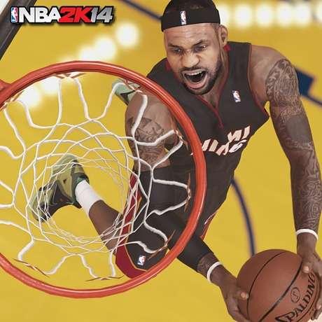 Cena de 'NBA2K14'