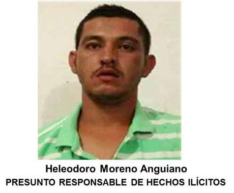 Narcotraficantes asesinados, abatidos y capturados  Heleodoro-moreno-anguiano