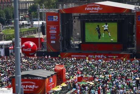 Fan fests reunirão público para acompanhar partidas da Copa do Mundo