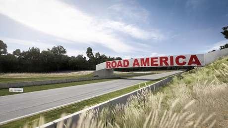 A pista Road America