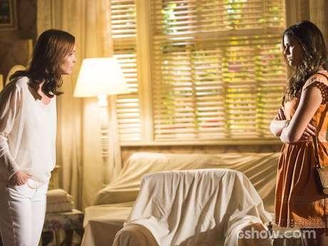 Helena e Luiza vão discutir por Laerte