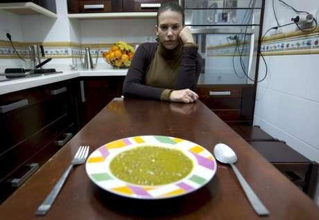 María, afectada por el Síndrome del Vómito Cíclico