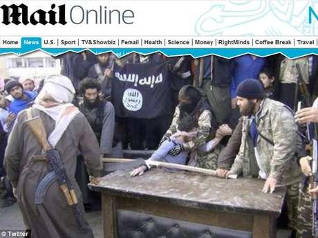 Extremistas sírios cortaram a mão direita de um acusado de roubo e transmitiram a punição ao vivo