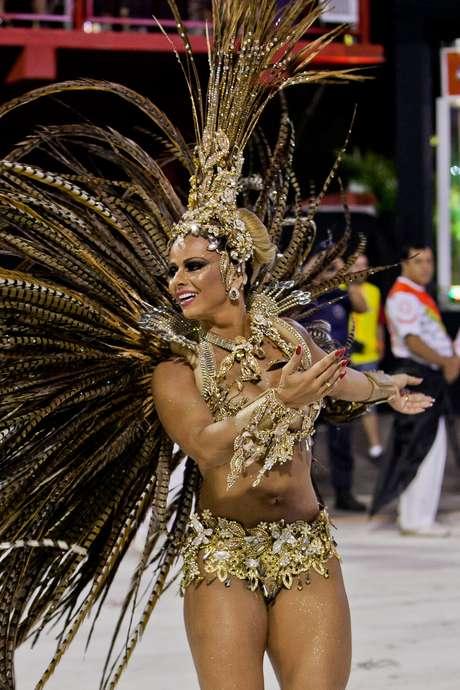 <p>Viviane Araújo é aposta do Salgueiro no Carnaval</p>