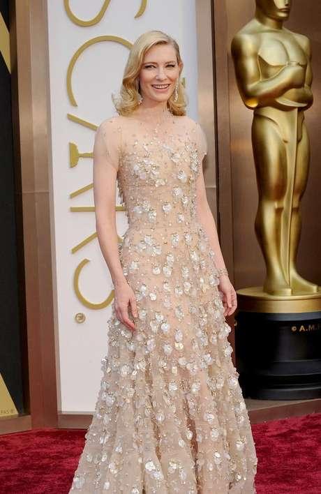 <p>Cate Blanchett ganhou a estatueta de Melhor Atriz</p>