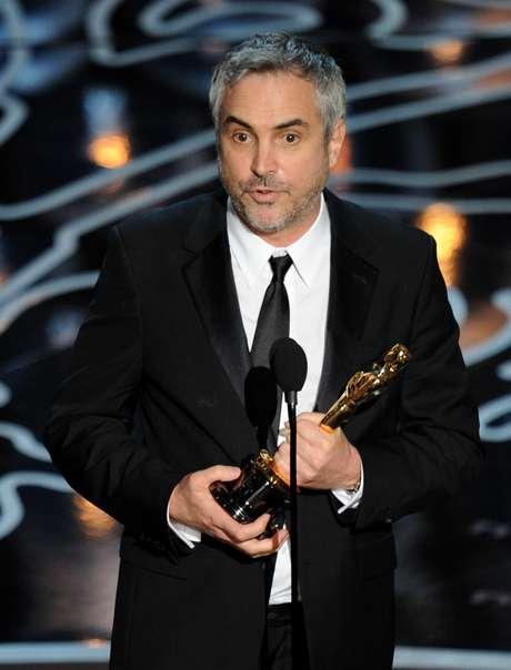 <p>Alfonso Cuarón ganhou estatueta de Melhor Diretor com o filme 'Gravidade'</p>
