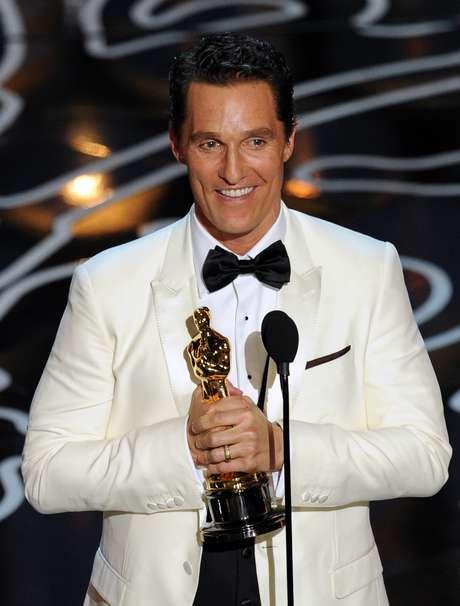 Matthew McConaughey ganhou o Oscar de Melhor Ator por 'Clube de Compras Dallas'
