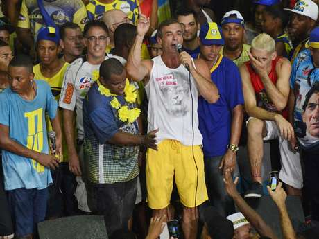 <p>Paulo Barros comemora terceiro título como carnavalesco da Tijuca</p>