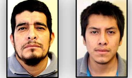 José Rolando Gallegos Cisneros (izq) y Aldo Iván Lince Cruz permanecen arraigados por las autoridades