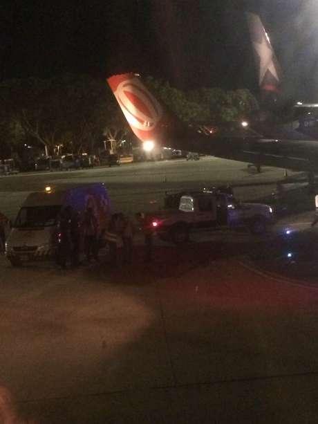 Avião da Gol que viajaria da Argentina com destino a São Paulo colidiu com outro avião enquanto taxiava na pista, e teve que ser substituído