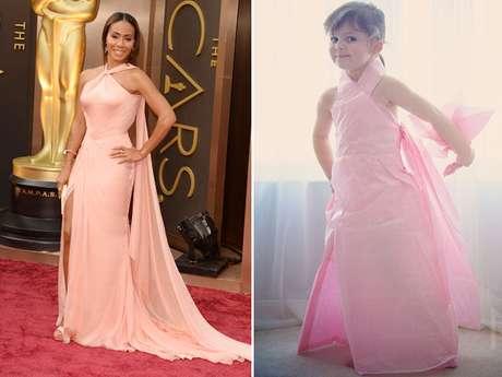 <p>A noite de Oscar inspirou mãe e filha na reprodução dos modelitos</p>