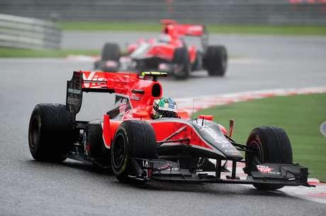 "Marussia ""herdou"" as cores da Virgin, sua antecessora na F1"