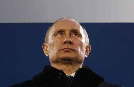 <p>Presidente russo, Vladimir Putin est&aacute; em lit&iacute;gio com americanos por crise na Ucr&acirc;nia</p>
