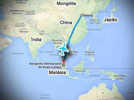 <p>Boeing 777-200 da Malaysia Airlines, com 239 pessoas a bordo, está desaparecido</p>