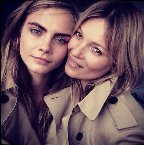 As duas modelos já participaram de outras campanhas da marca