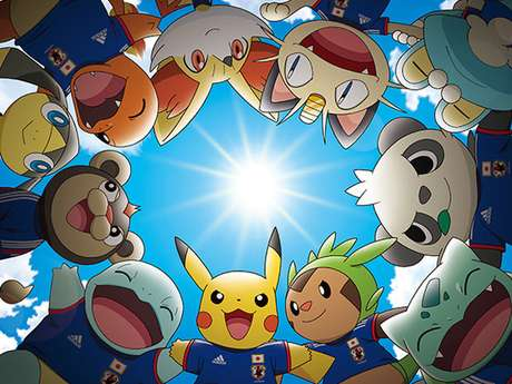 <p>Monstrinhos do desenho Pok&eacute;mon ser&atilde;o mascotes do Jap&atilde;o na Copa</p>