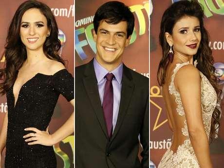 <p>Vários famosos posaram nos estúdios da TV Globo antes de participarem do prêmio Melhores do Ano, que será exibido no 'Domingão do Faustão' deste domingo (16)</p>