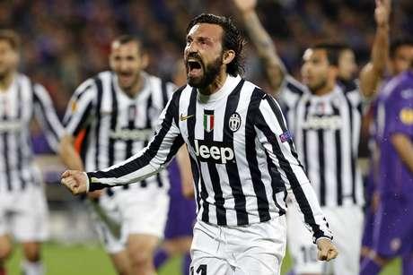 <p>Pirlo &eacute; um dos expoente da Juventus</p>