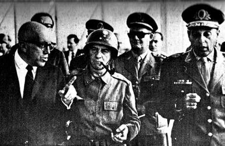 Olympio Mourão ficou marcado como o homem que derrubou o presidente João Goulart